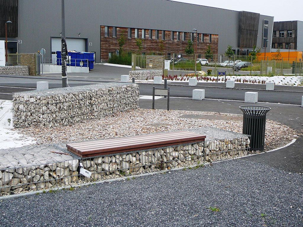 stonebox gabion SETP 95 rochefort
