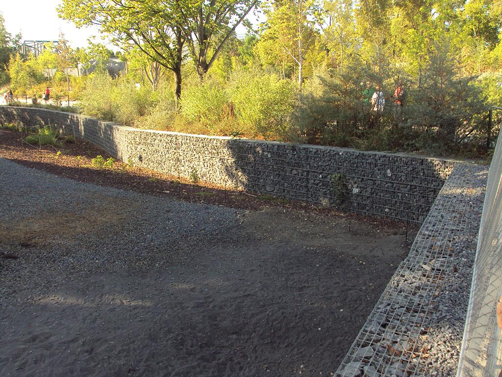 enclos zoo vincennes animal SETP gabion stonebox