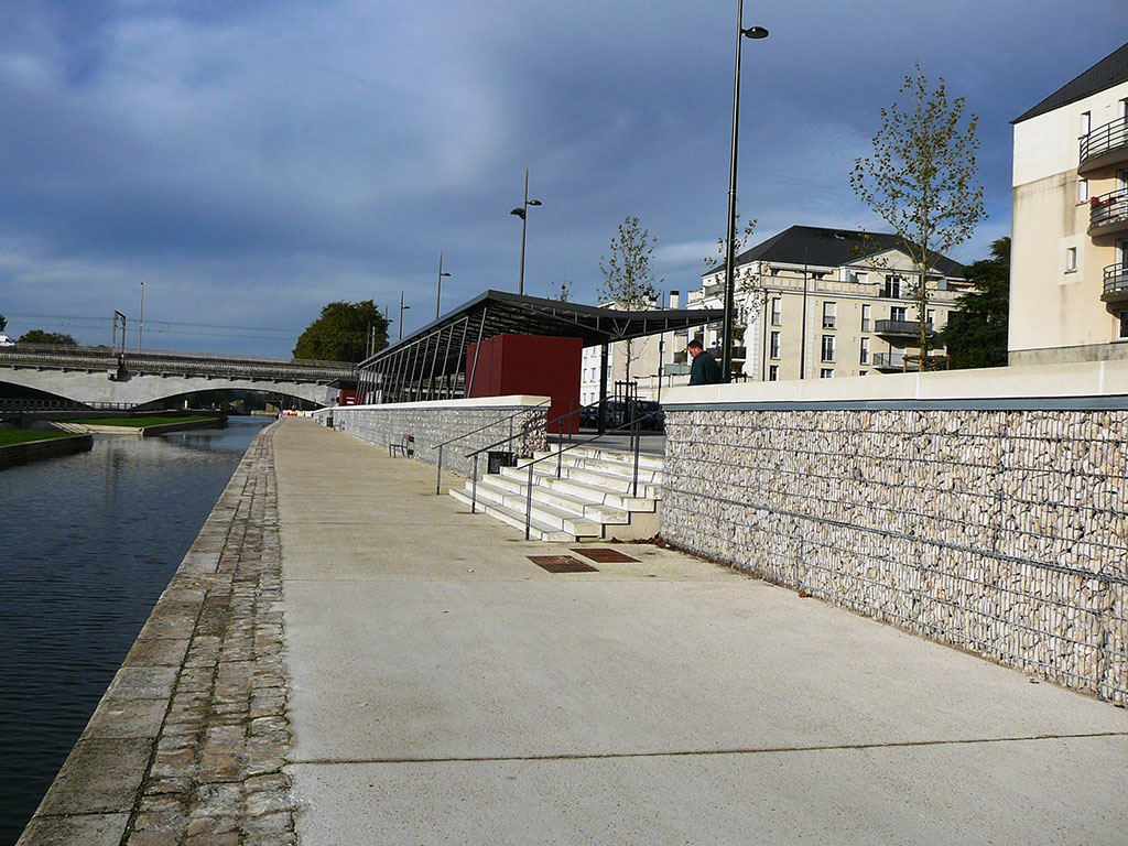 orléans stonebox retaining walls SETP