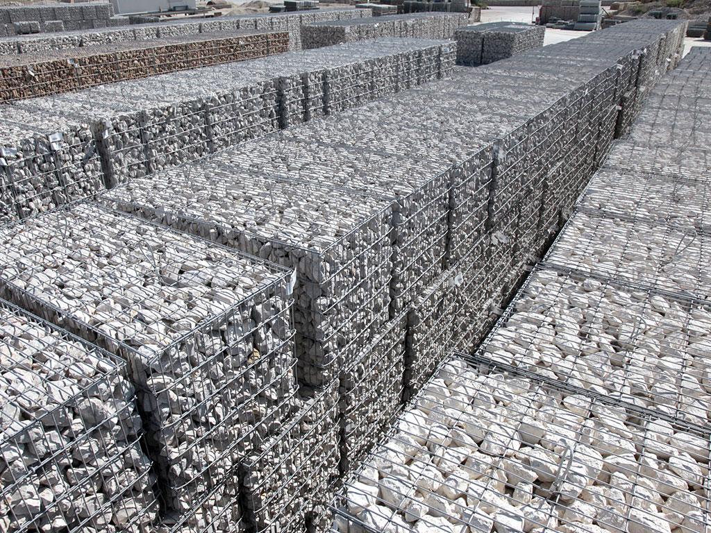 Stock gabions stonebox